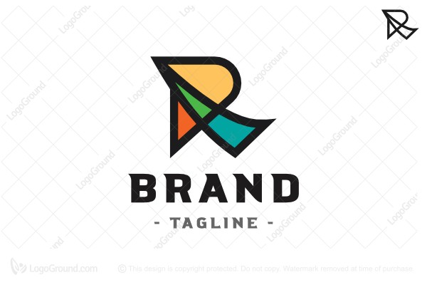 Logo for sale: Letter R Logo