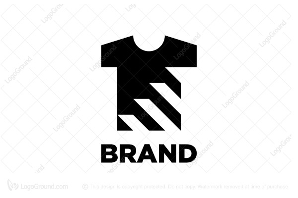 Logo for sale: T-shirt Stairs Logo