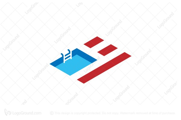 Logo for sale: American Pool Logo