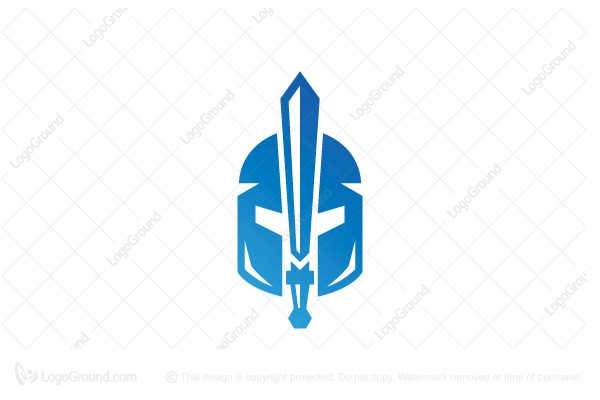 Logo for sale: Sword Spartan Logo