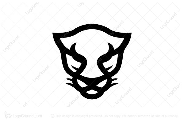 Logo for sale: Black Panther Head Logo