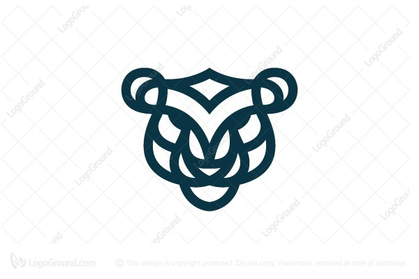 Logo for sale: Tiger Head Logo