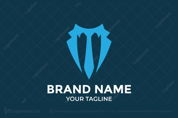 Logo for sale: Trident Boss Logo