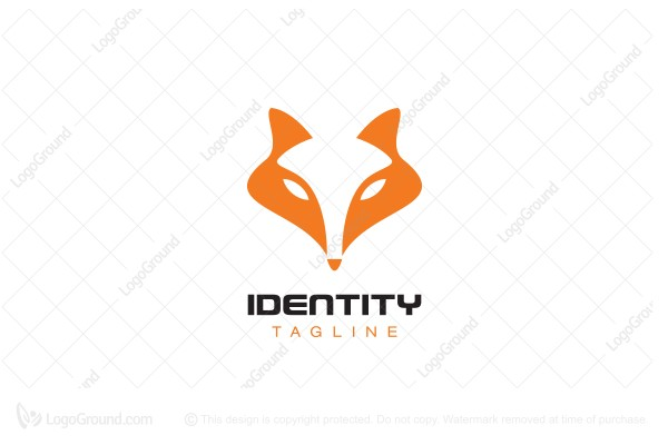 Logo for sale: Fox Face Logo