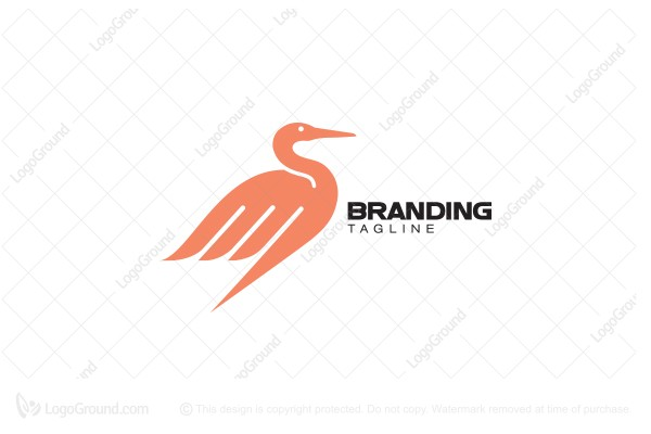 Logo for sale: Heron Logo