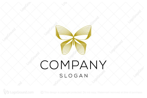 Logo for sale: Butterfly Line Logo