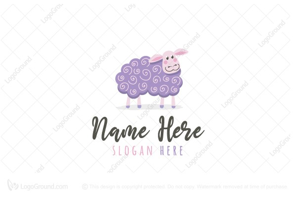 Logo for sale: Curly Sheep Logo