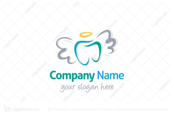 Logo for sale: Angel Tooth Logo