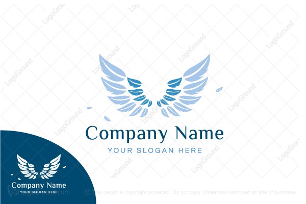 Logo for sale: Feather Wing Logo