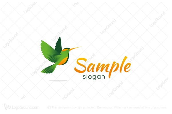 Logo for sale: Green Bird Logo