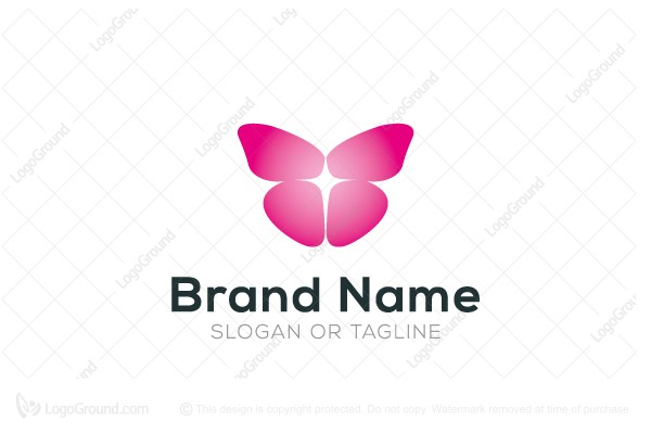 Logo for sale: Butterfly Church Logo