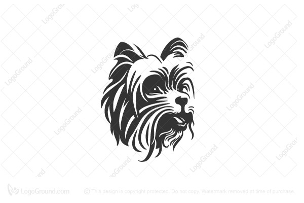 Logo for sale: Yorkshire Terrier Logo