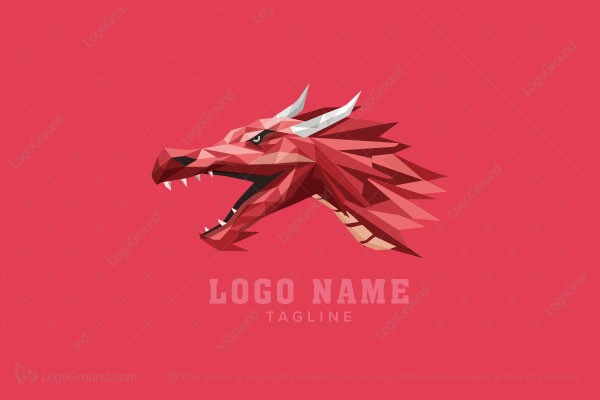 Logo for sale: Dragon Logo