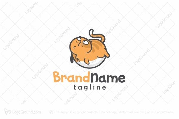 Logo for sale: FatMeow