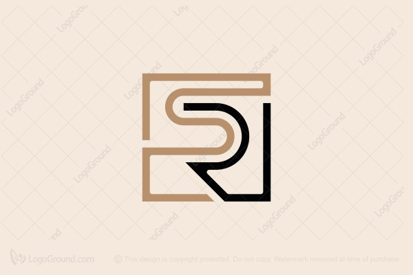 Rs Sr Monogram Logo