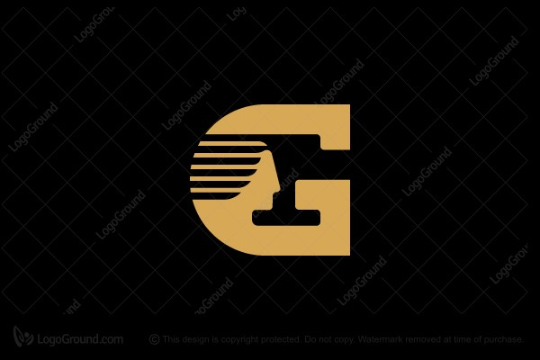 Logo for sale: Letter G Girl Logo