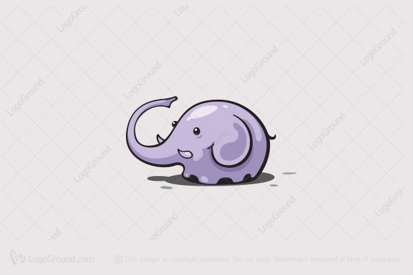Logo for sale: Elephant Baby Logo