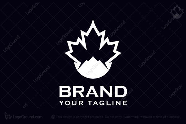 Logo for sale: Canadian Mountain Logo