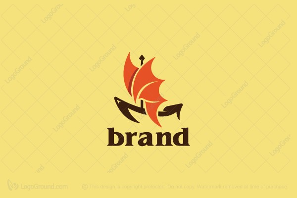 Logo for sale: Dragon Boat Logo