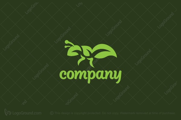 Logo for sale: Garden Ant Logo