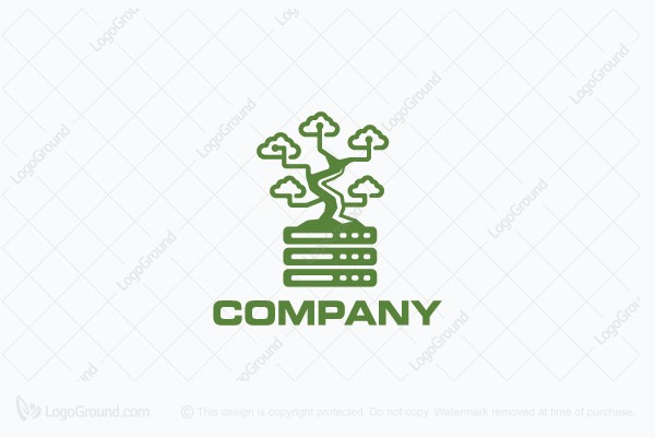 Logo for sale: Network Bonsai Logo