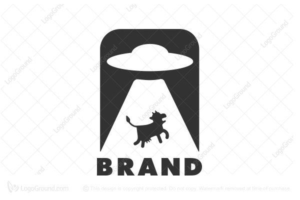 Logo for sale:  Cow Theft Logo
