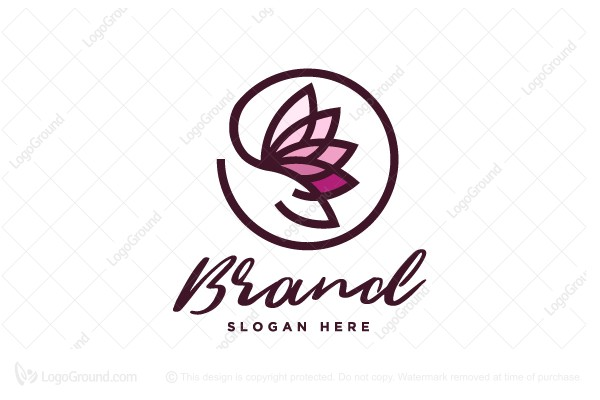 Logo for sale: Give Rose Logo