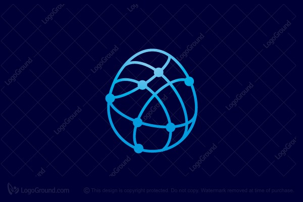 Logo for sale: Eggnet Logo