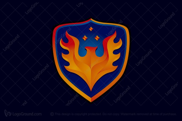 Logo for sale: Phoenix Emblem Logo
