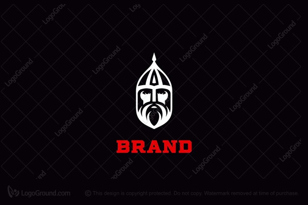 Logo for sale: Knight Russian Warrior Logo