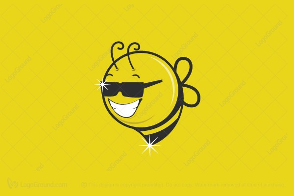 Logo for sale: Cool Bee Logo