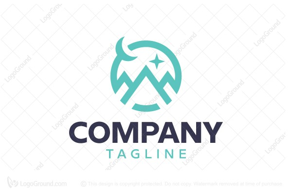 Logo for sale: Mountains Logo