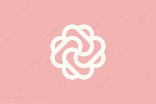 Logo for sale: Beauty Flower Logo