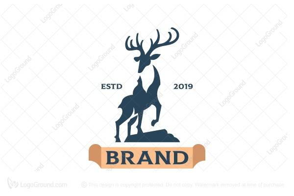 Logo for sale: Handsome Deer Logo