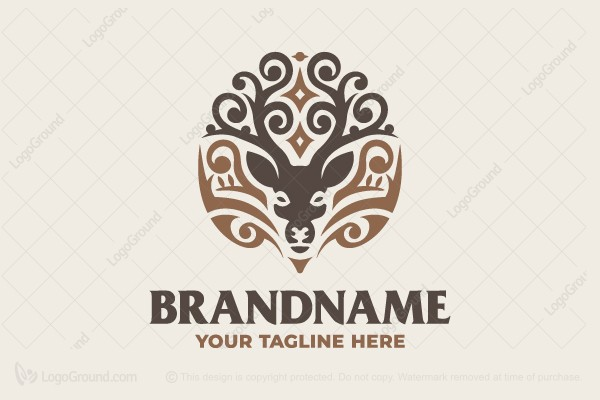 Logo for sale: Lovely Deer Logo