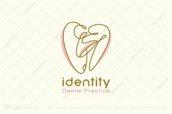 Logo for sale: Ballerina Dental Logo