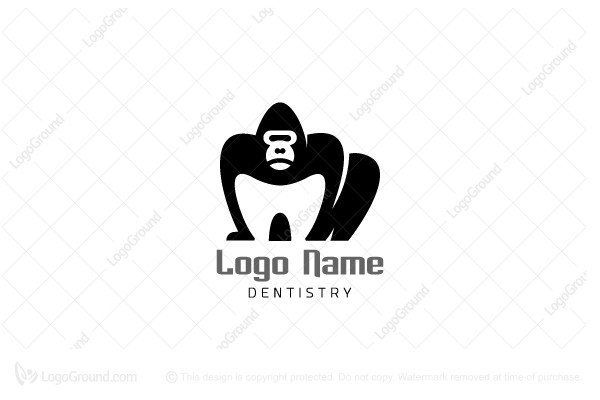 Logo for sale: Gorilla Dental Logo