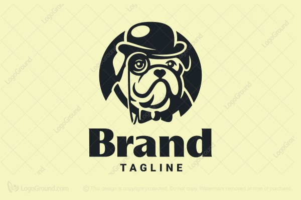 Logo for sale: Winston Bulldog Logo