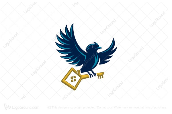 Logo for sale: Bird Key Logo
