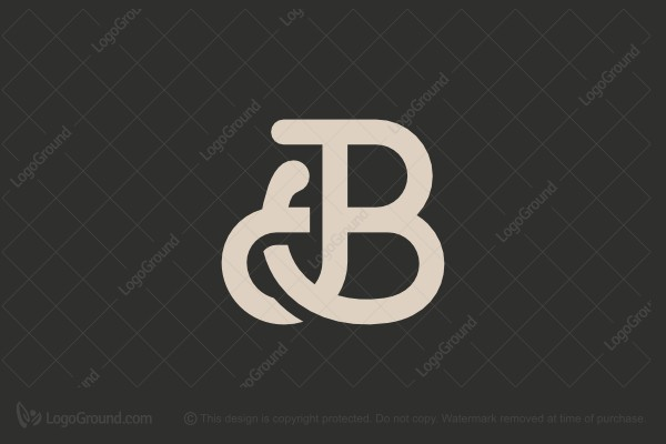Logo for sale: Letter Jb Logo