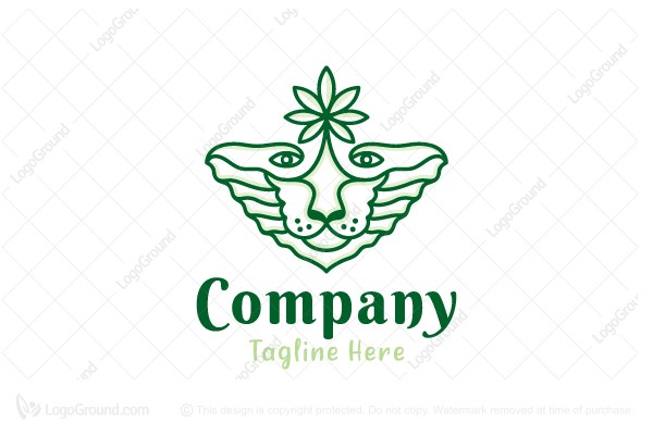 Logo for sale: Cannabis Lion Logo