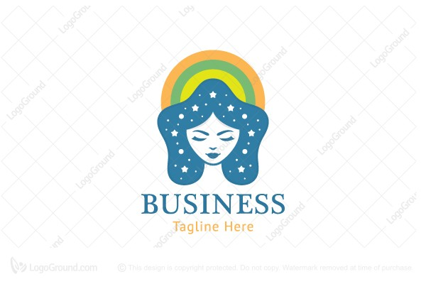 Logo for sale: Star Girl Logo