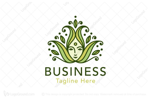 Logo for sale: Herbal Lady Logo