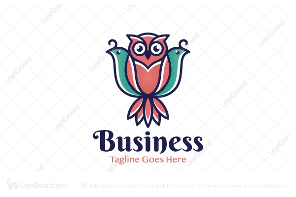 Logo for sale: Mysterious Owl Logo