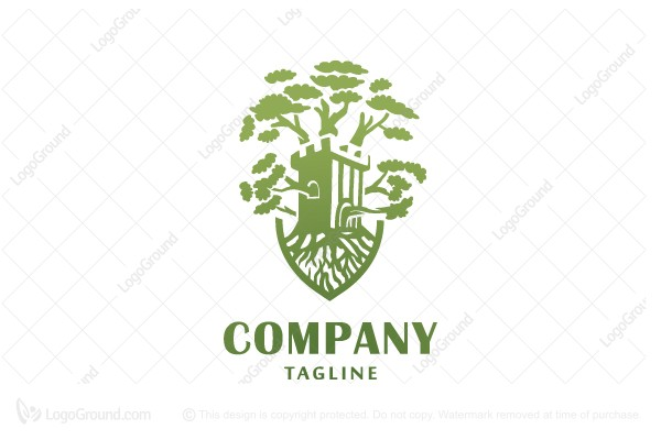 Logo for sale: Castle Tree Logo