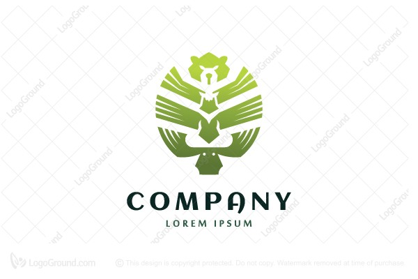 Logo for sale: The Wild Forest Logo