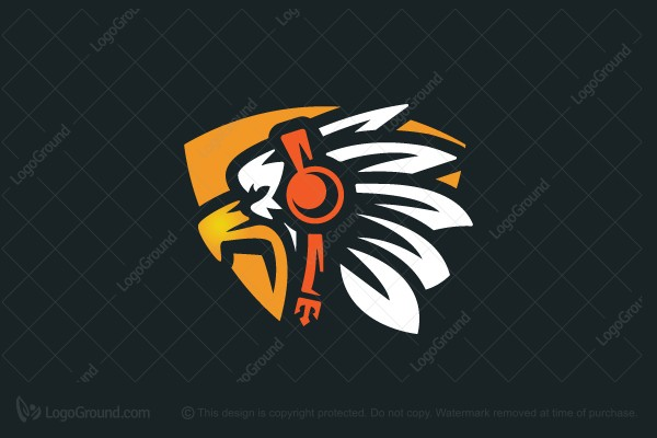 Logo for sale: Eagle Music Logo