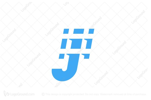 Logo for sale: Hashtag J Logo