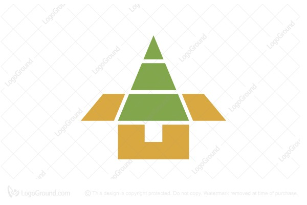 Logo for sale: Organic Packaging Logo