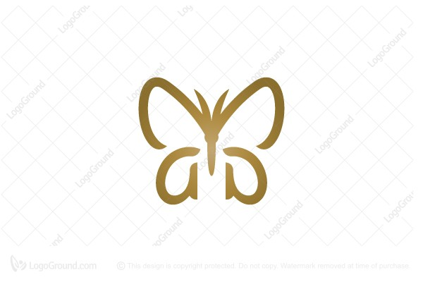 Logo for sale: aa Butterfly Logo